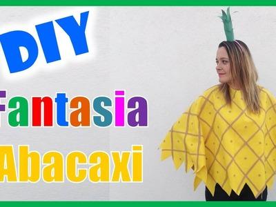 DIY de carnaval: Fantasia Abacaxi MUITO FÁCIL e BARATA! | Fran Santos