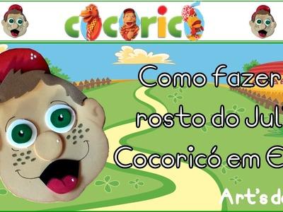 DIY - Faça você mesmo - Julío do Cocoricó em EVA