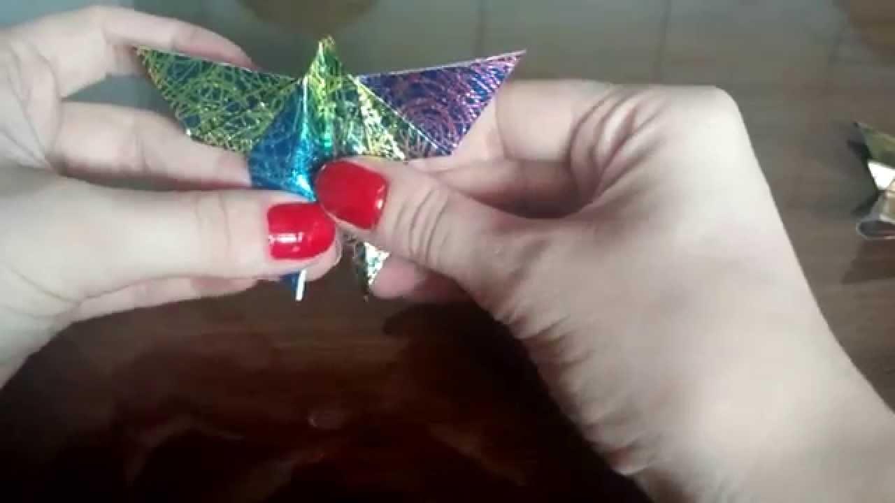 Borboletas de origami!