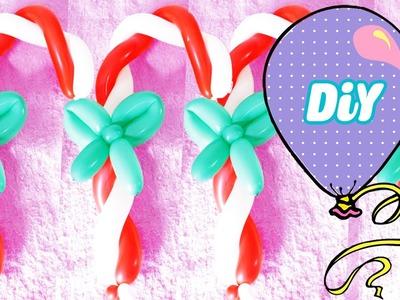 Como Fazer Bengala de balão #Natal