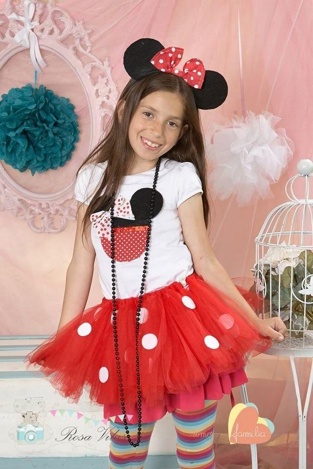DIY: Faça voce mesma um lindo tutu saia de bailarina, Minnie Mouse ♥
