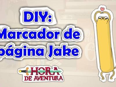 DIY: Marcador de páginas - Jake - Hora de Aventura