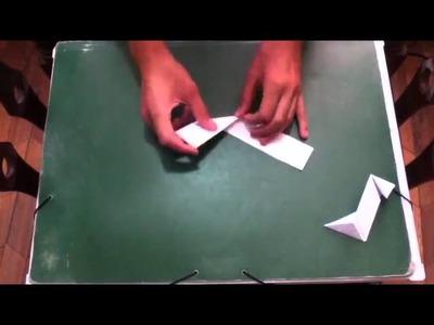 Estrella ninja de origami - Manualidades con papel