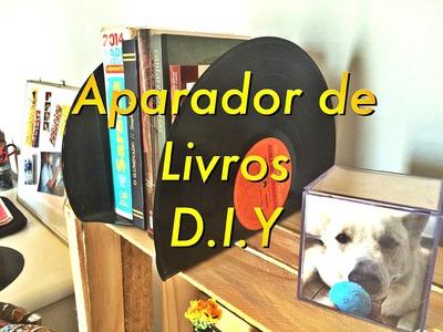 Aparador De Livros | D.I.Y | Bruna Ramos