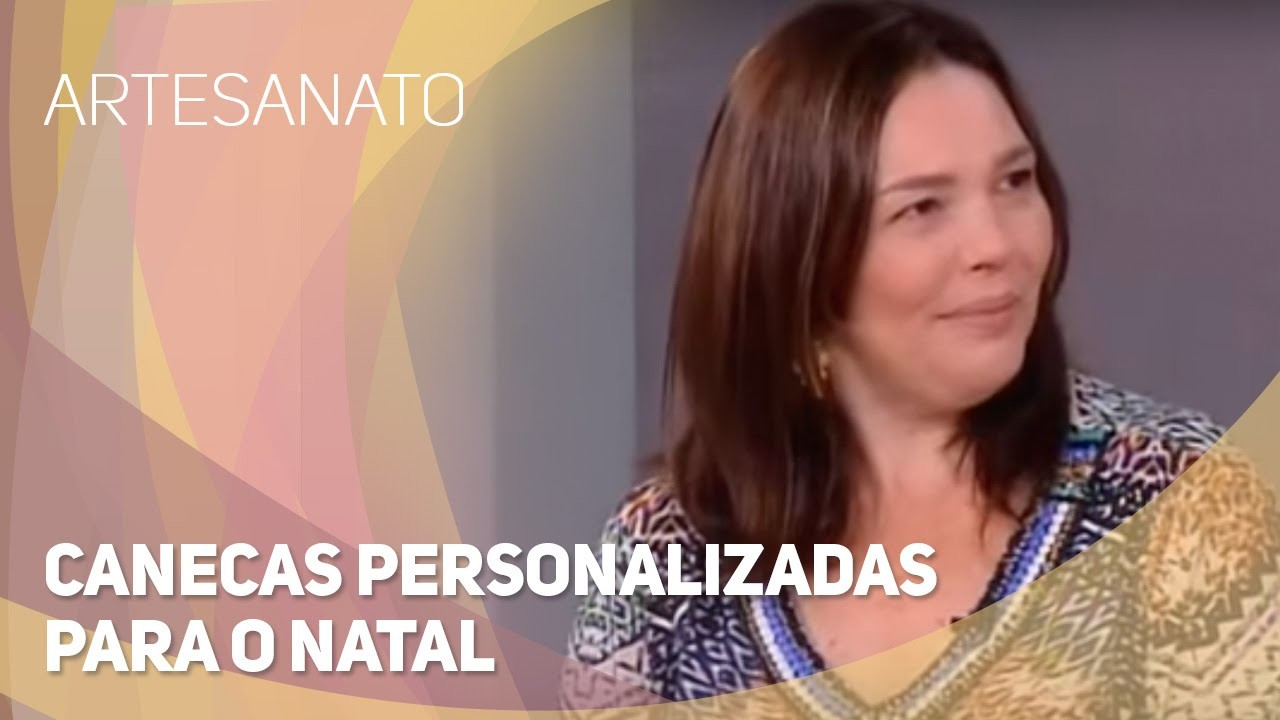 Artesanato - Canecas personalizadas para o Natal (01.12.2015)