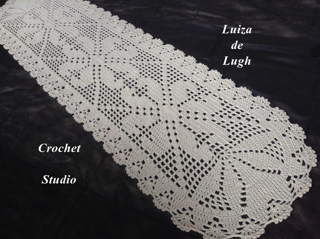 Crochê - Tapete com 1 metro e 75 cm # Luiza de Lugh