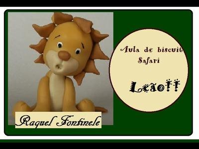 DIY -  Aula Safári -  Leão - Lembrancinhas de aniversários - Raquel Fontinele