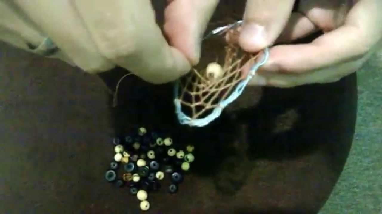 DIY. Como fazer um Brinco de Filtro dos Sonhos (How to Dreamcather)