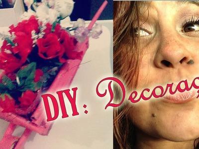 DIY: Decoração | Carrinho de flores #JehTodoDia