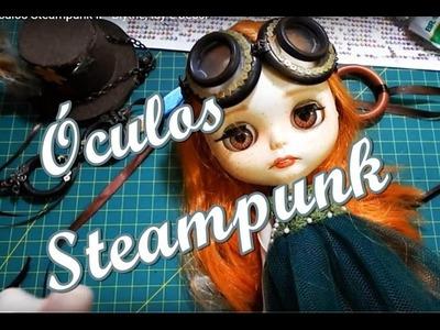 DIY -Óculos Steampunk II - Blythe, Icy e Jecci