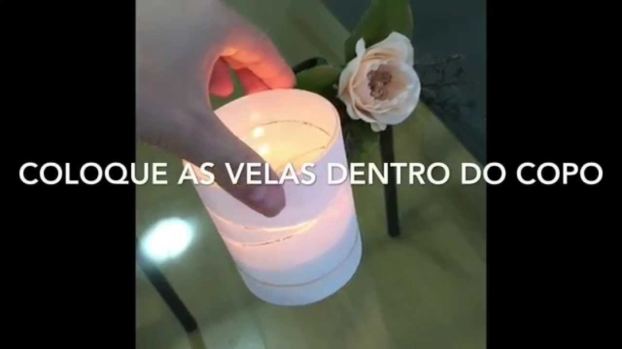 DIY - Porta velas