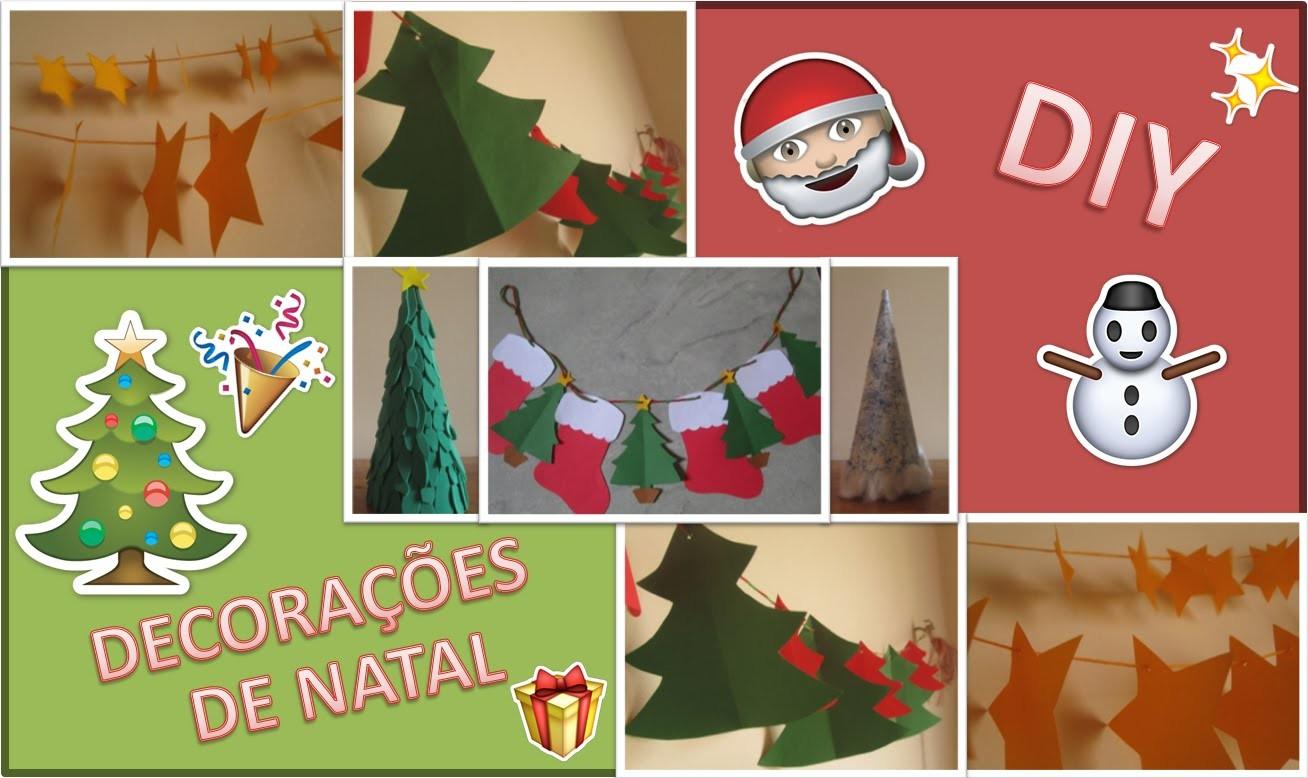 Ideias para Decorações de Natal || DIY