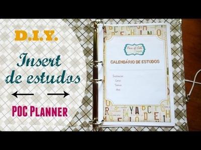 Planner 2016 estudos download DIY tutorial   #POCPlanner