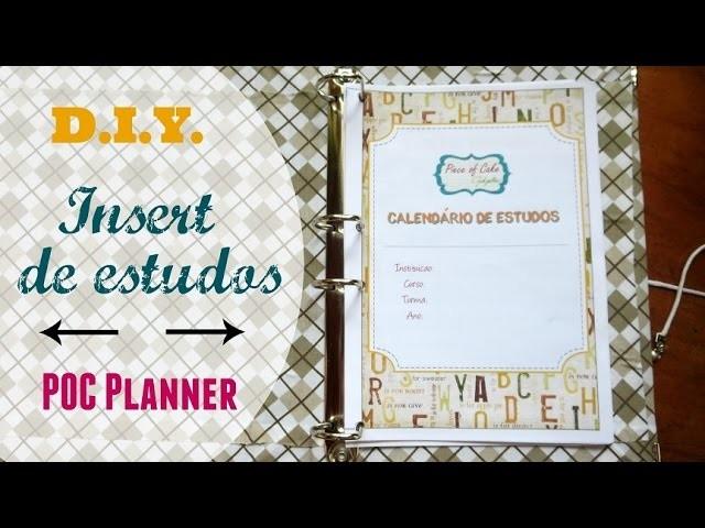 Planner 2016 estudos download DIY tutorial | #POCPlanner