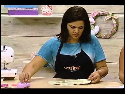 Babador com Aplicação com Renata Silva - Vitrine do Artesanato na TV