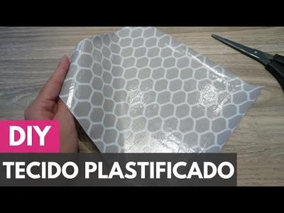 Como plastificar.impermeabilizar tecidos |DIY - Faça você mesmo