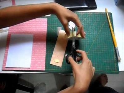 DIY: Bloquinho de anotações para geladeira