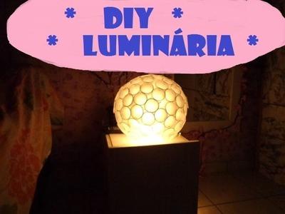 DIY Como fazer luminária globo com copinhos de café