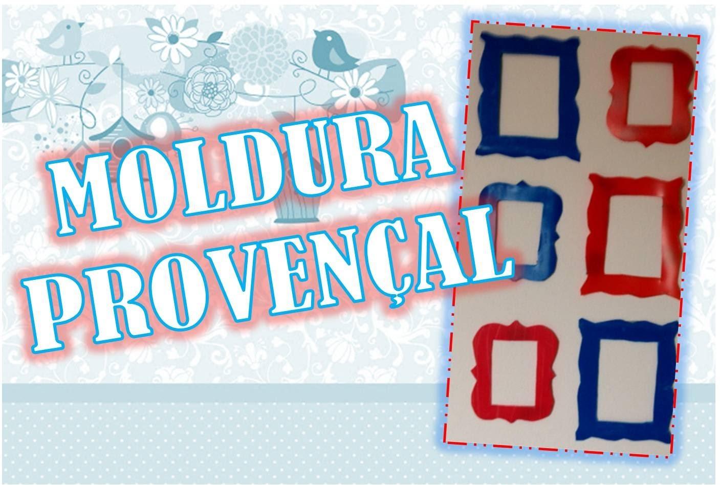 DIY - Moldura provençal sem gastar nada!