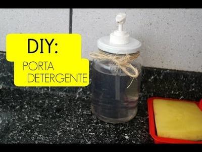 DIY: PORTA DETERGENTE !