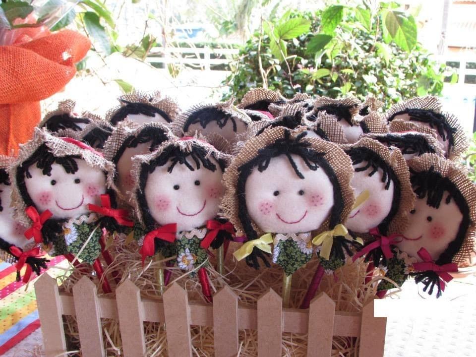 DIY - Boneca Caipira - Festas Juninas