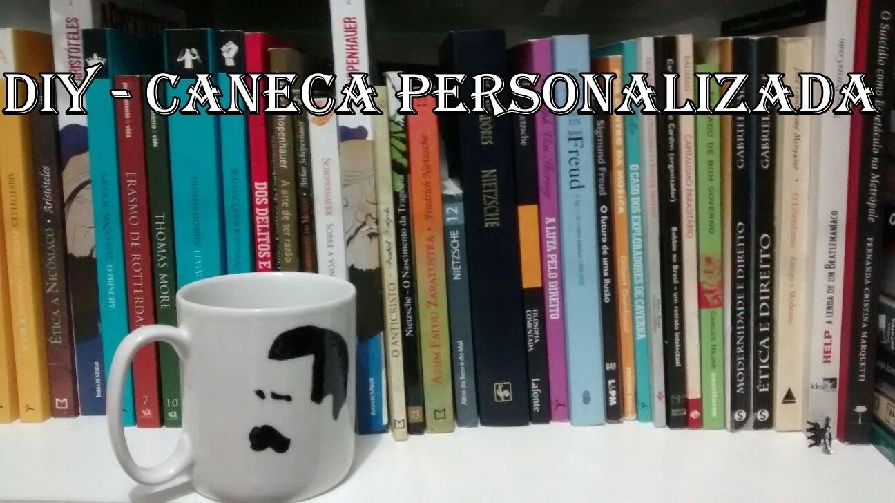 Diy - Caneca personalizada