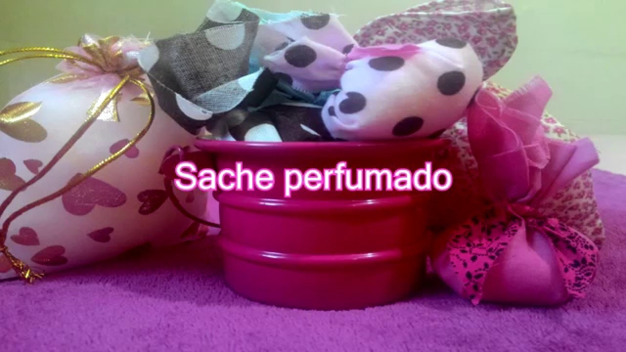 DIY: Como fazer Sache perfumado#How to make scented sachet