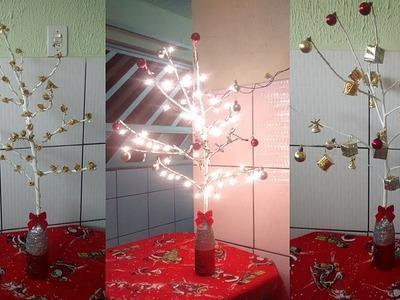 DIY.Faça você mesmo: Árvore de Natal com Galhos Secos (3 Modelos) | By Layane Feitosa