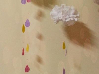 DIY: Nuvem decoração de quarto