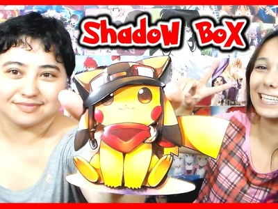 DIY - ShadowBox de Anime