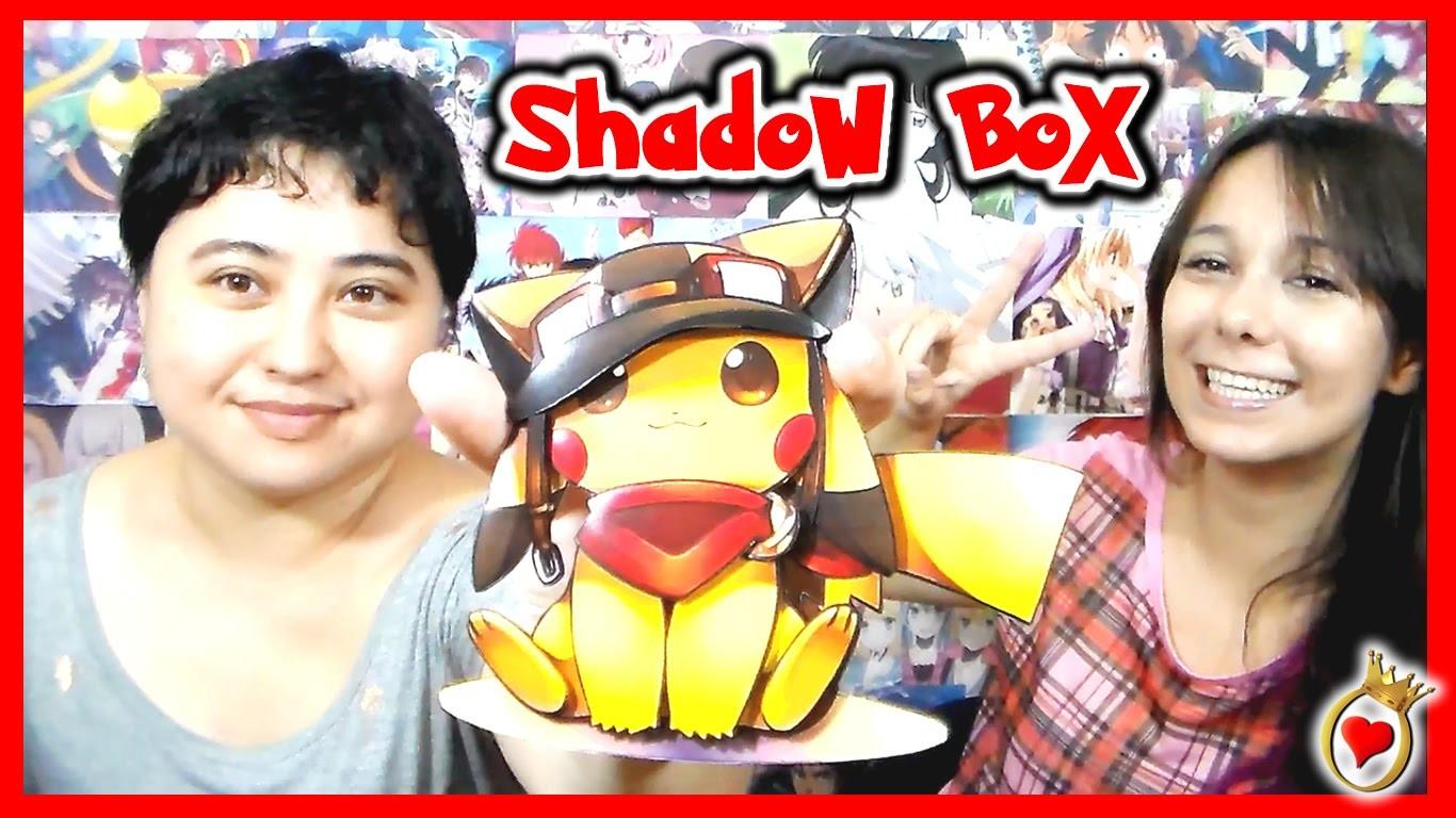 DIY - ShadowBox de Anime