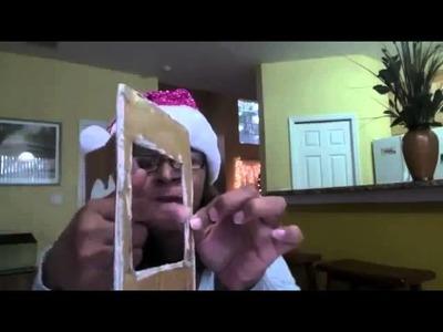 Tutorial de Manualidades: Marco para foto magnético en carton