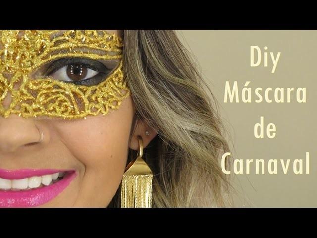 Diy Máscara de carnaval
