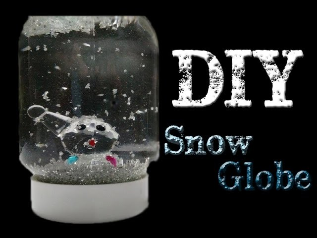 DIY SnowGlobe. Pinterest Test 2#
