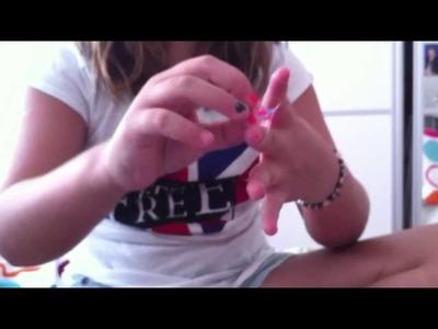 Tutorial: fazer pulseira elástica com o dedo
