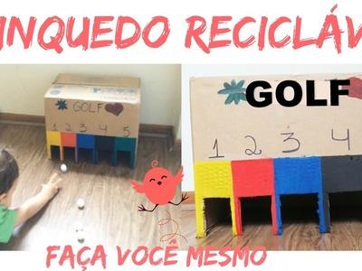 3ºDesafio Méliuz | DIY: Golf para crianças, com caixa de papelão ♥ FÁCIL E BARATO!