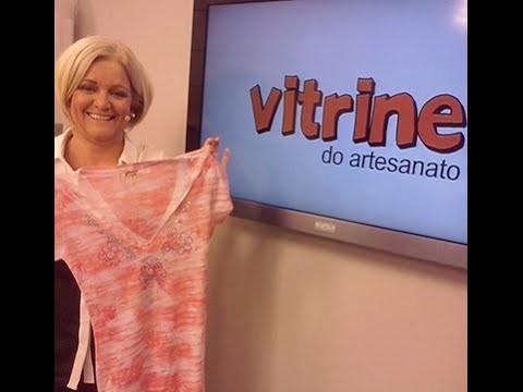 Blusinha Feminina de Strass com Valéria Souza | Vitrine do artesanato na TV