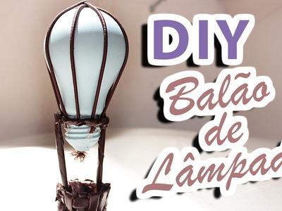 DIY Balão de lâmpada