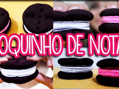 DIY: Bolacha OREO (Bloquinho de anotações)