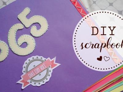 DIY: Como fazer scrapbook barato | Eu Rabisco