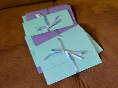 DIY - Envelope para convite