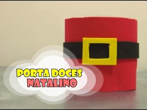 DIY.: Porta Doces Natalino - Recycled Art