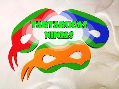 DIY.: Tartarugas Ninjas - Máscaras