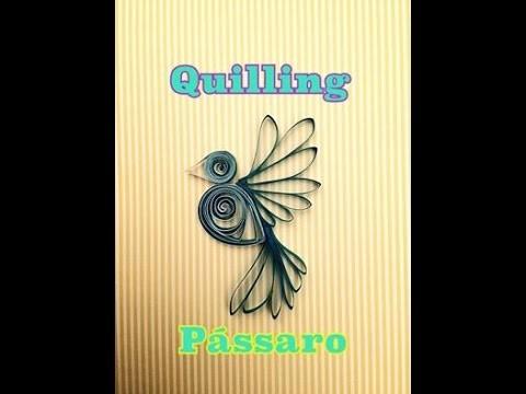 Quilling-Tutorial Pássaro