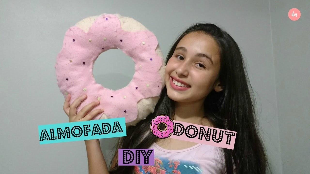 DIY ❊ Almofada Donut