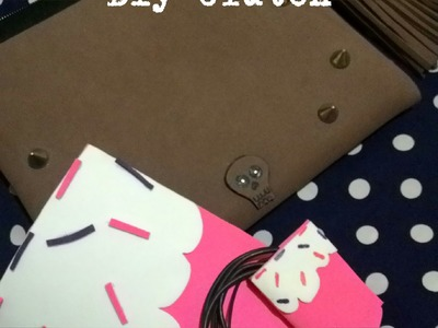 Diy clutch.necessaire.estojo