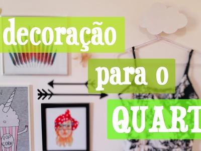 DIY Decoração para o QUARTO | Maísa Flora