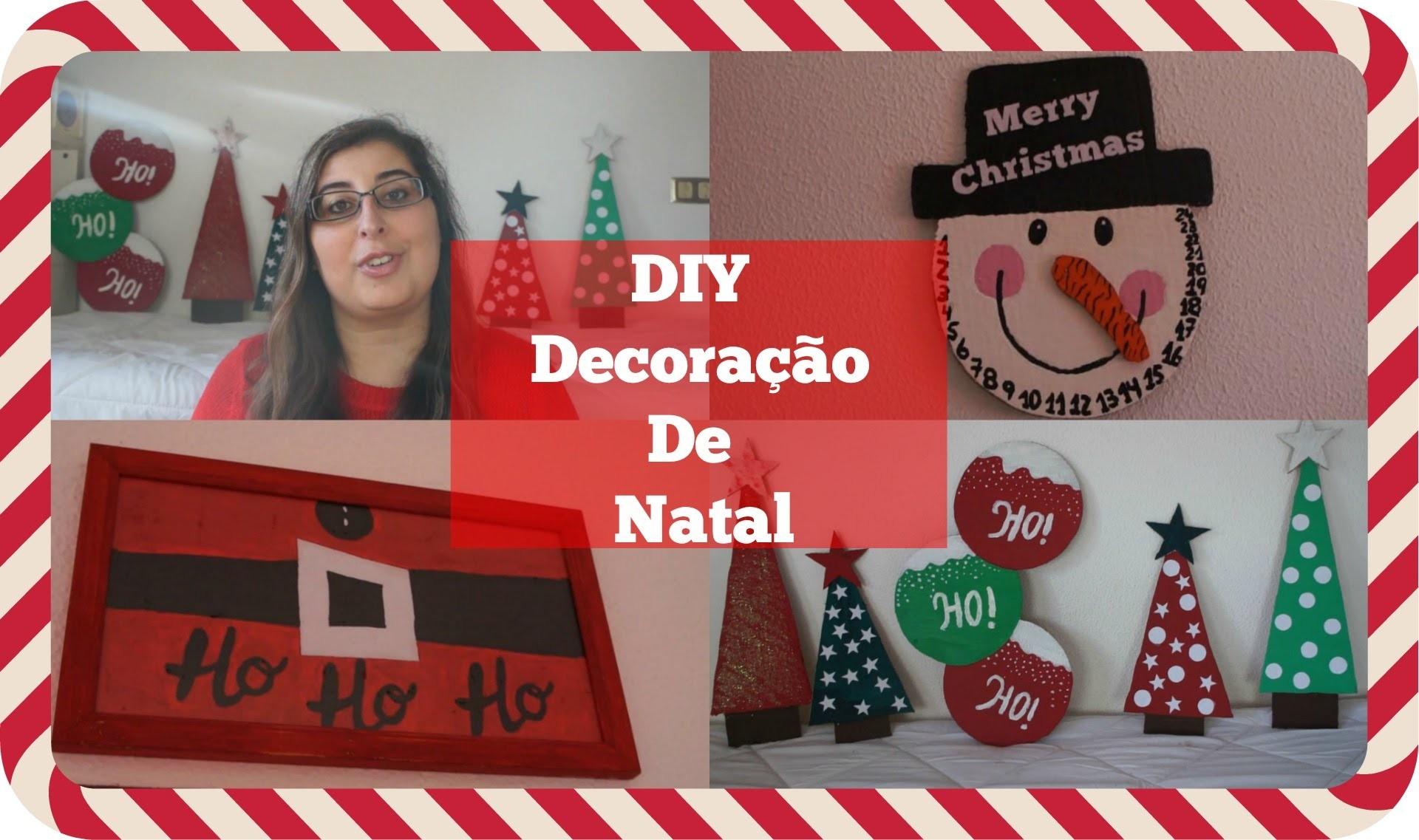 DIY Decorações de Natal ♡ (DIY Christmas Decor)   Ana Correia