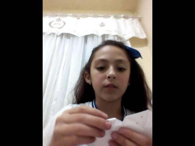 Diy:origami de coração!