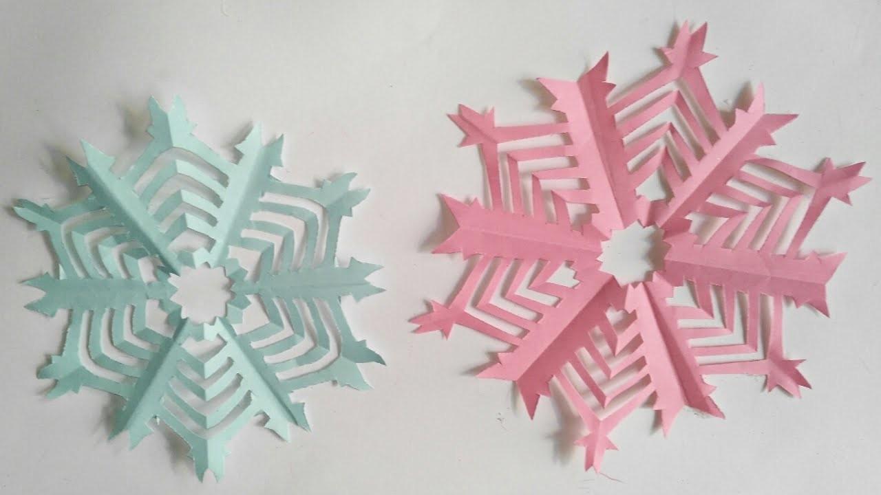 Estrellas de 12 puntas de papel en 3D faciles  DIY Manolidades